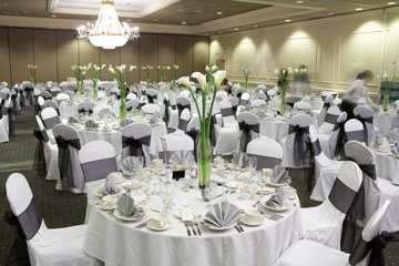 a wedding banquet catering hall
